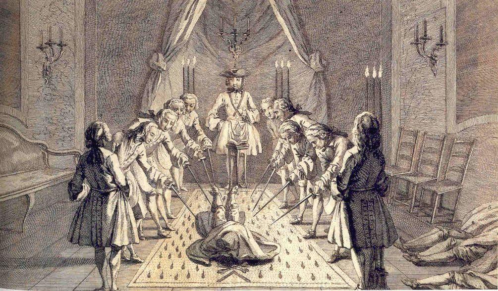 Как стать масоном ложа череп и крест